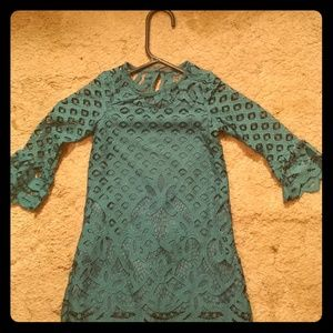 NWT 3T Green Lace Dress for Toddler